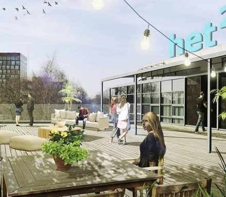 NDC-gebouw Groningen wordt bedrijfsverzamelpand Het Kwadraat