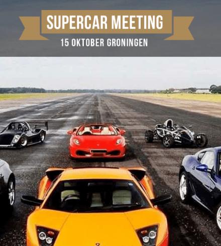 Supercar Meeting Groningen: event rondom exclusieve (sport)wagens