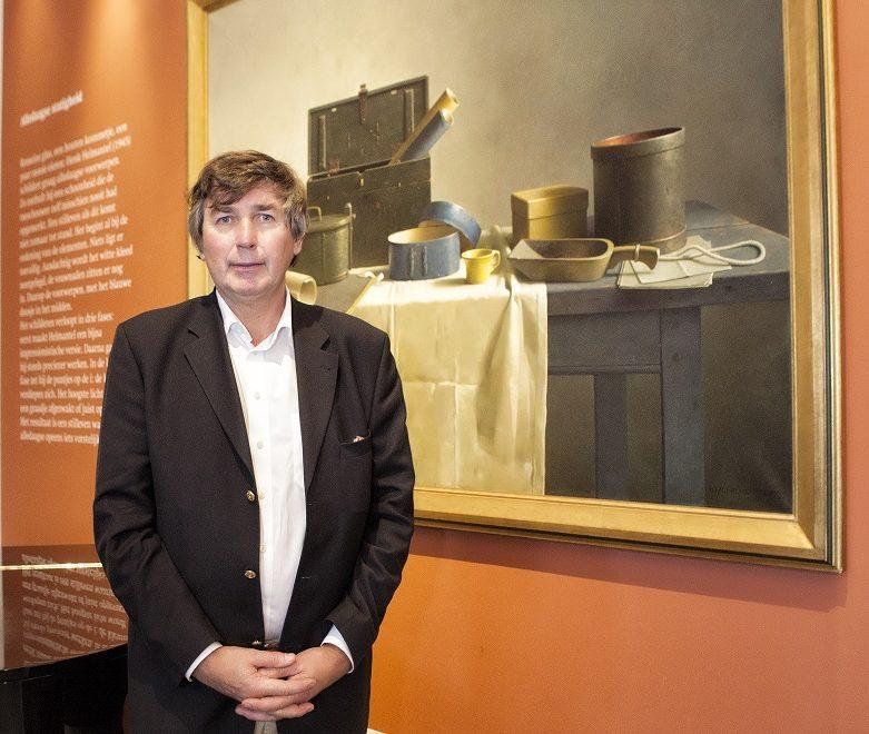 Grietinus Harms: 'Rietdekken is een uitlaatklep voor de kunsthandel en omgekeerd'