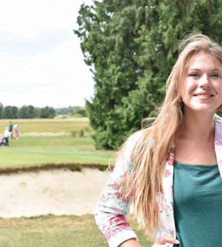 Golfen met schrijfster Lisette Jonkman