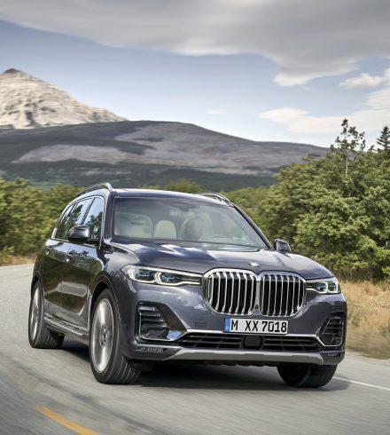 BMW X7: Mastodont met een enorme muil