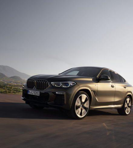 BMW X6: een echte daredevil op wielen